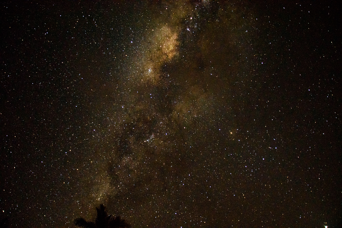 Picture of the Milky Way
